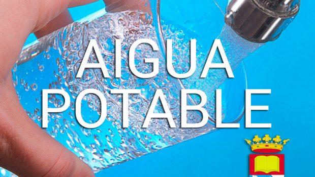 Excelente noticia que nos confirma la Generalitat, certificando la correcta calidad del agua para el consumo humano en nuestra zona.
