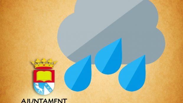 Ante la situación de intensas lluvias y alerta meteorológica que afectan a la Comunitat Valenciana y ante el peligro que pueda suponer en la seguridad de las personas y en […]